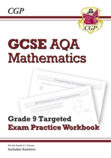 GCSE AQA mathematicsGrade 9 targeted,: Exam practice workbook