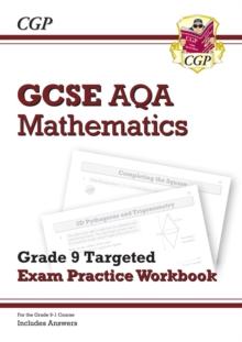 Image for GCSE AQA mathematicsGrade 9 targeted,: Exam practice workbook