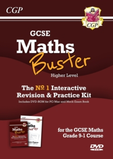 MathsBuster: GCSE Maths Interactive Revision (Grade 9-1 Course) Higher - DVD&Exam Practice Pack