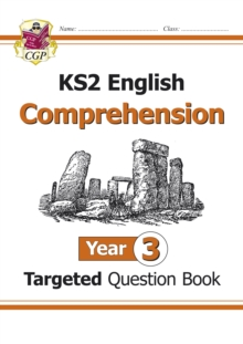 Image for New KS2 English Targeted Question Book: Year 3 Reading Comprehension - Book 1 (with Answers)
