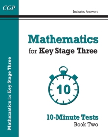 Image for Mathematics for Key Stage three  : 10-minute testsBook two