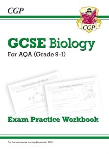 Image for GCSE biology  : for AQA (grade 9-1): Exam practice workbook