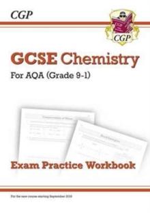Image for Grade 9-1 GCSE Chemistry: AQA Exam Practice Workbook - Higher