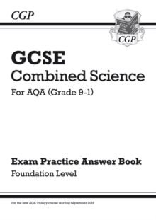 Image for GCSE Combined Science: AQA Answers (for Exam Practice Workbook) - Foundation