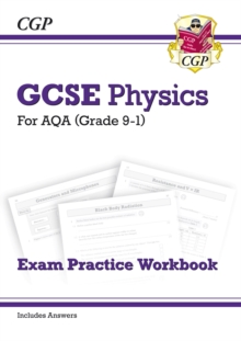 Image for New GCSE Physics AQA Exam Practice Workbook - Higher (includes answers)
