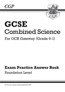 Image for GCSE Combined Science: OCR Gateway Answers (for Exam Practice Workbook) - Foundation