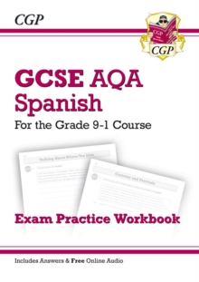 Image for GCSE Spanish AQA Exam Practice Workbook - for the Grade 9-1 Course (includes Answers)
