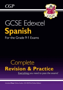 Image for GCSE Spanish Edexcel Complete Revision & Practice (with CD & Online Edition) - Grade 9-1 Course