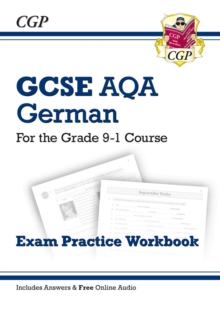 Image for GCSE German AQA Exam Practice Workbook - for the Grade 9-1 Course (includes Answers)