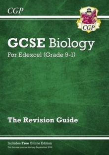 Image for Grade 9-1 GCSE Biology: Edexcel Revision Guide with Online Edition