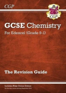 Image for Grade 9-1 GCSE Chemistry: Edexcel Revision Guide with Online Edition