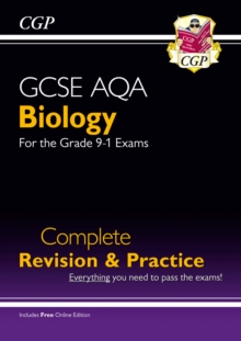 Grade 9-1 GCSE Biology AQA Complete Revision & Practice with Online Edition