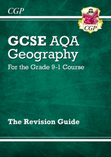 New GCSE 9-1 Geography AQA Revision Guide (with Online Ed) - New Edition for 2020 exams & beyond