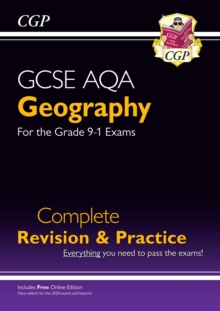 New Grade 9-1 GCSE Geography AQA Complete Revision & Practice (with Online Edition)
