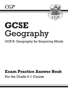 Image for Grade 9-1 GCSE Geography OCR B: Geography for Enquiring Minds - Answers (for Workbook)