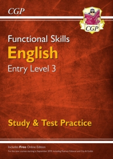 Image for Functional skillsEntry level 3: English :