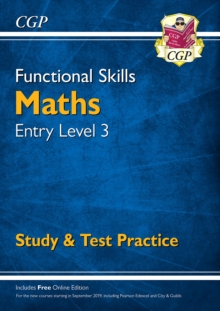 Image for Functional Skills Maths Entry Level 3 - Study & Test Practice