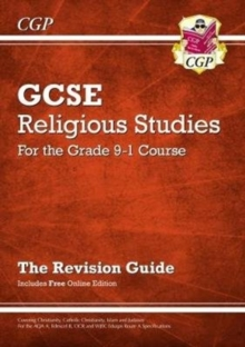 Image for Grade 9-1 GCSE Religious Studies: Revision Guide with Online Edition