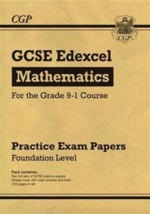 Image for GCSE Maths Edexcel Practice Papers: Foundation - for the Grade 9-1 Course