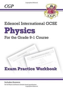 Image for Grade 9-1 Edexcel International GCSE Physics: Exam Practice Workbook (includes Answers)