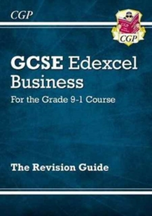 Image for GCSE Business Edexcel Revision Guide - for the Grade 9-1 Course