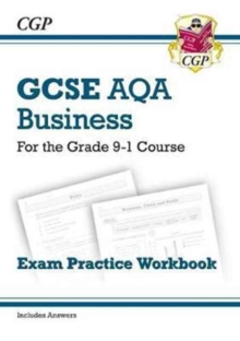 Image for GCSE Business AQA Exam Practice Workbook - for the Grade 9-1 Course (includes Answers)