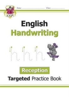 Image for English Targeted Practice Book: Handwriting - Reception