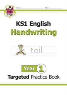 Image for KS1 English Targeted Practice Book: Handwriting - Year 1