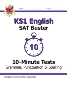 Image for KS1 English SAT Buster 10-Minute Tests: Grammar, Punctuation & Spelling