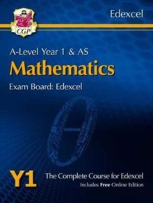 Image for New A-Level Maths for Edexcel: Year 1 & AS Student Book with Online Edition