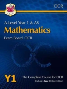 Image for A-Level Maths for OCR: Year 1 & AS Student Book with Online Edition