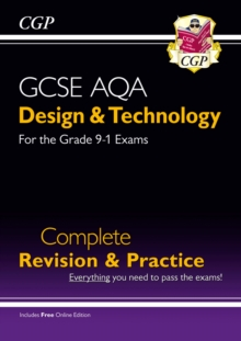 Image for GCSE AQA design & technology: Complete revision & practice