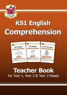 Image for KS1 English Targeted Comprehension: Teacher Book 1 for Year 1, Year 2 & Year 3 Ready