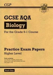Image for Grade 9-1 GCSE Biology AQA Practice Papers: Higher Pack 1