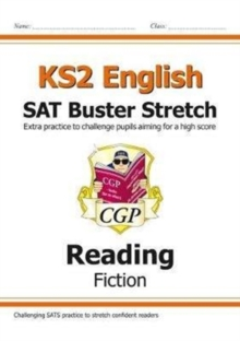 Image for New KS2 English Reading SAT Buster Stretch: Fiction (for the 2021 tests)