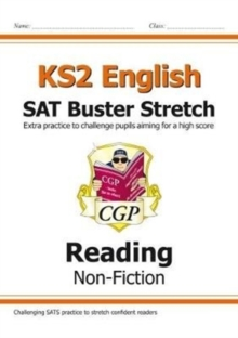 Image for New KS2 English Reading SAT Buster Stretch: Non-Fiction (for the 2021 tests)