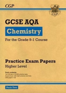 Image for Grade 9-1 GCSE Chemistry AQA Practice Papers: Higher Pack 2