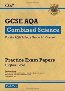 Image for Grade 9-1 GCSE Combined Science AQA Practice Papers: Higher Pack 2