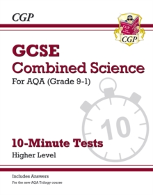 Image for Grade 9-1 GCSE Chemistry: AQA 10-Minute Tests (with answers)