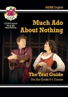 Image for Grade 9-1 GCSE English Shakespeare Text Guide - Much Ado About Nothing