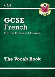 Image for GCSE French Vocab Book - for the Grade 9-1 Course