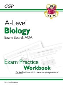 Image for New A-Level Biology: AQA Year 1 & 2 Exam Practice Workbook - includes Answers