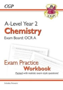 Image for A-Level Chemistry: OCR A Year 2 Exam Practice Workbook - includes Answers