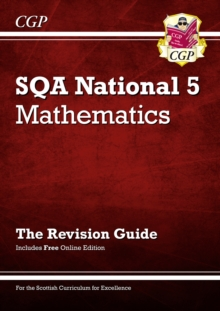 Image for National 5 Maths: SQA Revision Guide with Online Edition