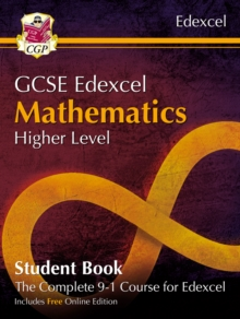 Image for Grade 9-1 GCSE Maths Edexcel Student Book - Higher (with Online Edition)
