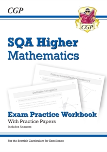 Image for SQA higher mathematics  : exam practice workbook with practice papers (includes answers)