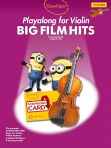 Image for Guest Spot : Big Film Hits Playalong for Violin (Book/Audio Download)
