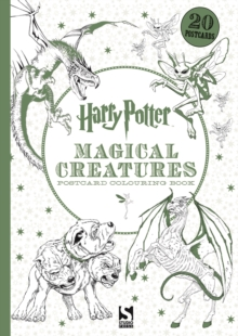Image for Harry Potter Magical Creatures Postcard Colouring Book : 20 postcards to colour