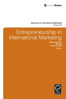 Image for Entrepreneurship in International Marketing