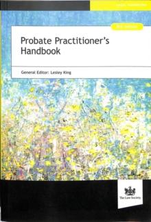 Image for Probate practitioner's handbook
